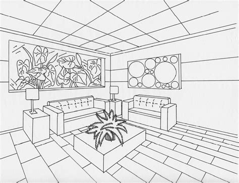 two point perspective living room 2 point perspective t 5 perspective perspective drawing and drawings