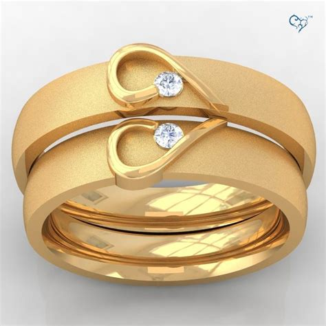 Wedding Rings For Couples by Engagement Rings Gold Kenetiks Wedding Promise