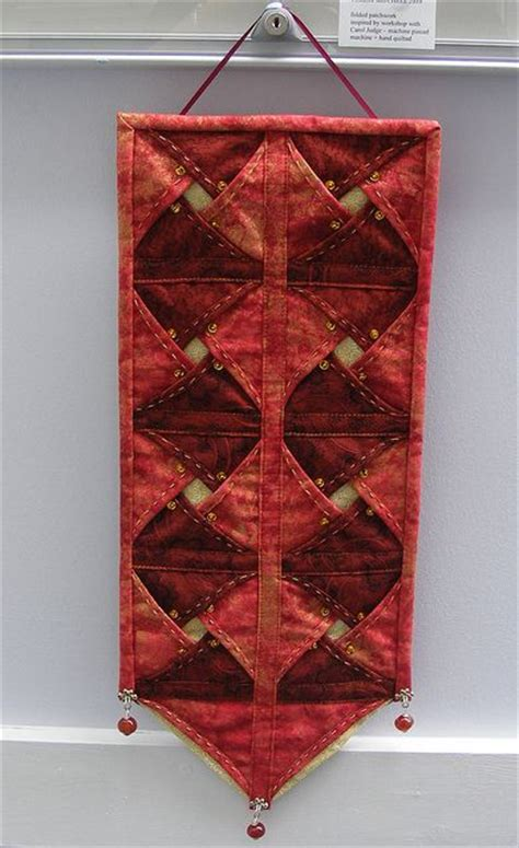 Folded Patchwork - folded patchwork wall hanging flickr photo
