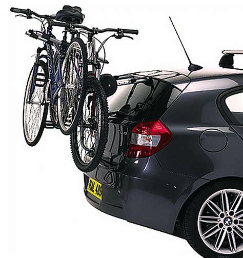 Rear Car Rack by Exodus Rear Rack Car High Mount 3 Cycle Bike Carrier
