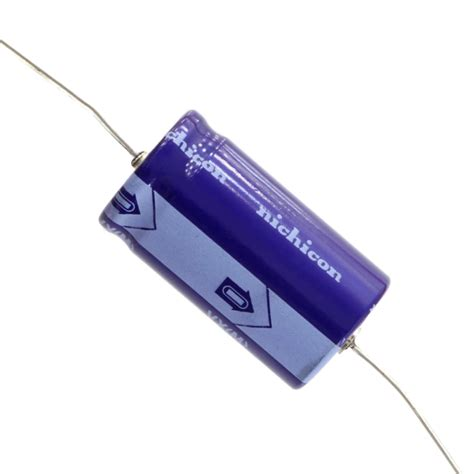 nichicon vx capacitors nichicon vx series axial electrolytic capacitor 10uf reverb