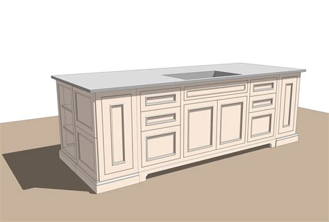 free kitchen sketchup models set 1 ag cad designs