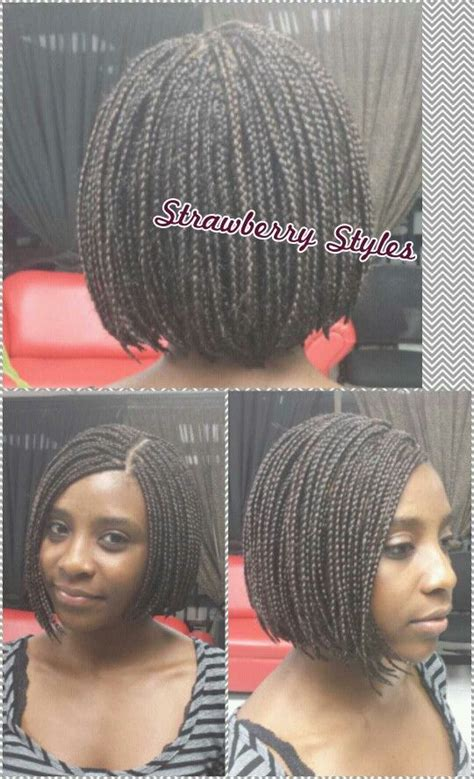 pics of a braided bob style with the back nape shaved braided bob weaves and extensions pinterest