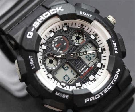 Stok Terbatas G Shock Casio Putih White Ga500 Frogman Premium 2 casio g shock kw casio g shock ga 100 kw