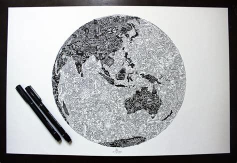 doodle earth leimelendres melendres deviantart