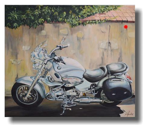 Motorrad Bilder Gemalt by Bikes Cars Maritime Malerei