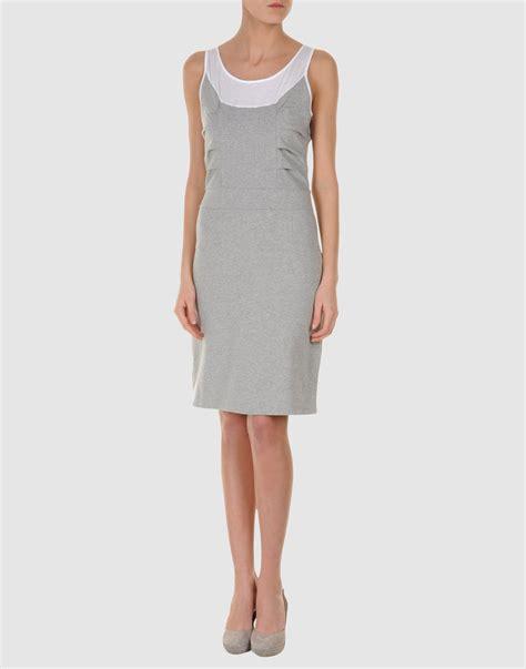 light gray dress bea dress in gray light grey lyst
