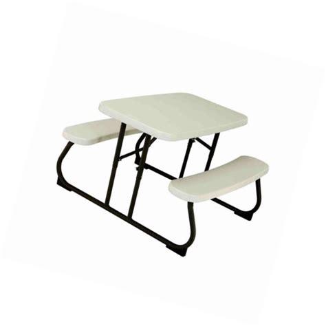lifetime 280094 kid s picnic table lifetime folding picnic table for sale classifieds