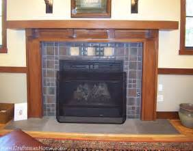 prairie style mantles seven craftsman fireplace