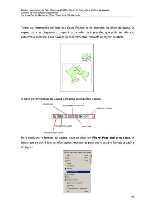 configurar layout arcgis iniciando no arcgis