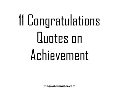 11 congratulations quotes on achievement