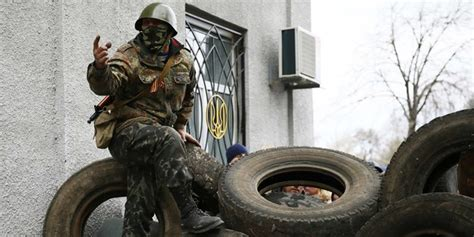 wie ein innenministerium errichtet unruhen im osten der ukraine wir wollen mit russland