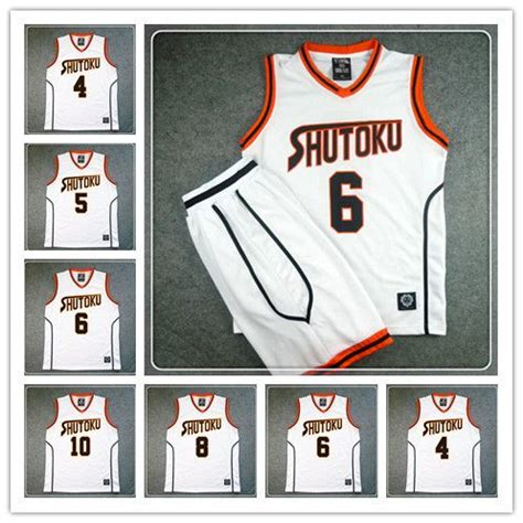 kuroko no basket jersey design 9 best kuroko no basuke basketball jersey and shorts