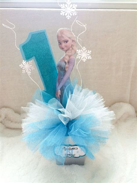 frozen centerpiece elsa anna and olaf by