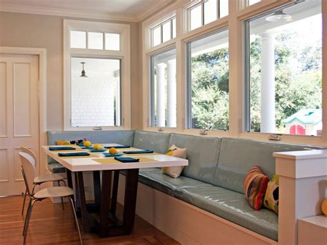 modern kitchen banquette photos hgtv
