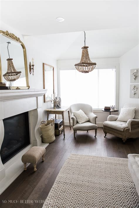 Living Room Vintage Decorating Ideas - decor tips a fireplace makeover burlap projects more