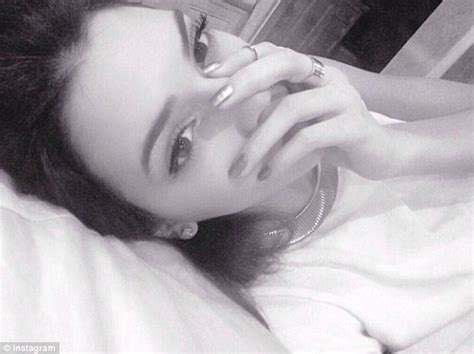 selfies in bed rihanna and other stars post flawless early morning