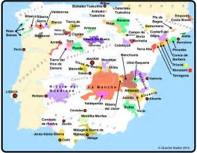 Spain Wine Map by Mediterranean Garden Spain Map Of Wine Producing Areas Of