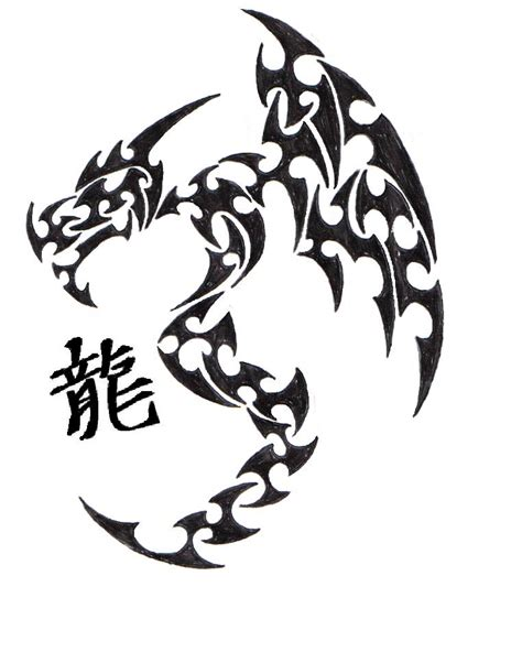 dragon tattoo kanji tattoo ideas by gayle roach