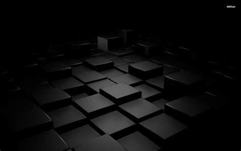 wallpaper 3d cube black cube wallpaper wallpapersafari