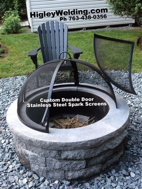 Firepit Screens 103 Best Images About Custom Stainless Steel Pit