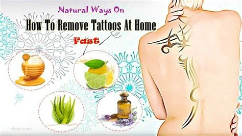 how to remove tattoos at home fast 28 natural ways