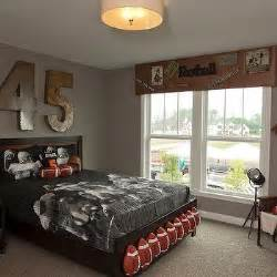 football themed bedrooms room cornice box design ideas