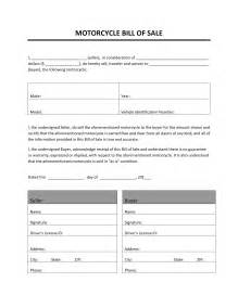 motorcycle sale contract template installment sales contract template