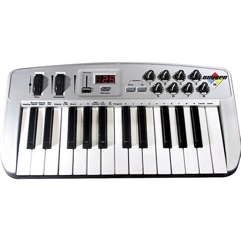 M Audio Mid Air25 25key Usb Midi Wiireless Controller m audio oxygen 8 25 key usb midi controller musician s friend