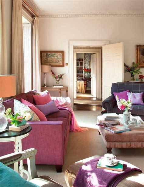 sofa fucsia fuchsia sofa lovely living rooms pink sofa