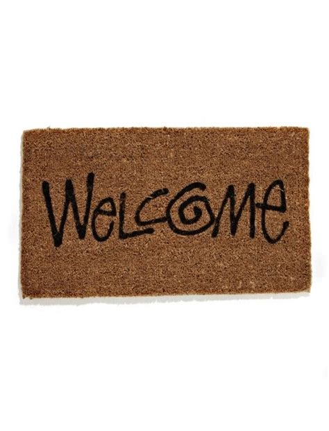 Stussy Doormat by Stussy Welcome Mat Future Home Stussy Welcome Mats