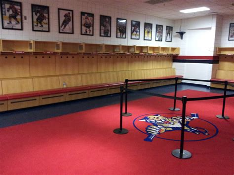Panthers Locker Room by Florida Panthers Team History Everything Hockey Nhl