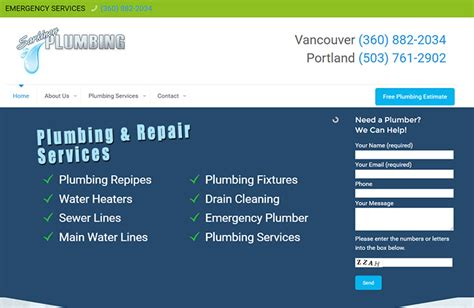 T Flow Plumbing by 100 Plumbing Websites For Design Inspiration