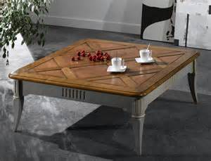table basse carr 233 e en merisier meubles turone