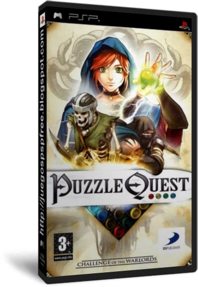 puzzle quest challenge of the warlords puzzle quest challenge of the warlords juegos psp en 1 link