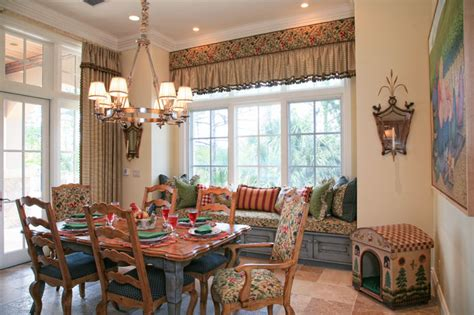 country french estate rustic dining room  metro