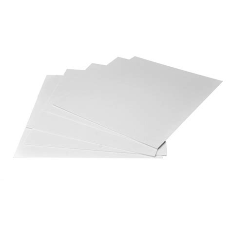 11x17 Mat by Arista Mat Board 11x17 4 Ply White Both Sides 10 Pack