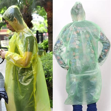 Jas Hujan Plastik Ponco jual jas hujan plastik sekali pakai model ponco plastic