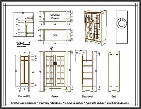cad woodworking furniture drawings in autocad plans diy free flat