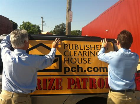 Pch Prize Patrol Live - todd and dave with prize patrol van pch blog