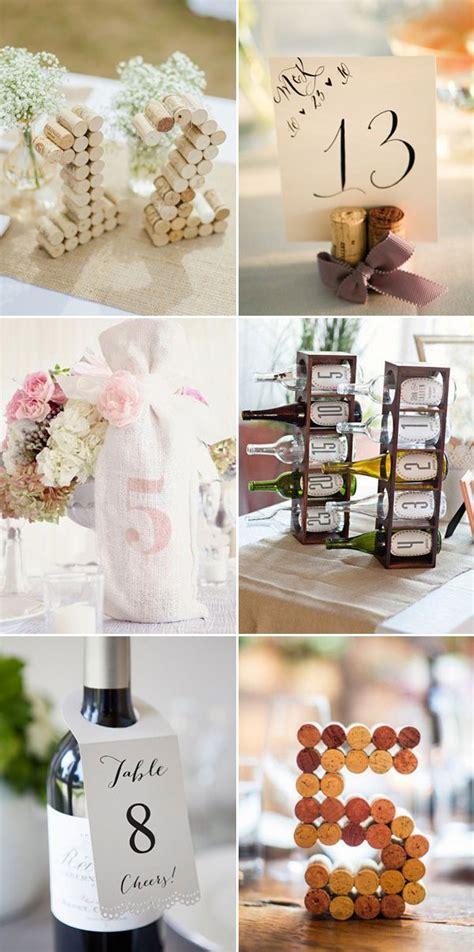 59 diy wedding ideas for 51 creative diy wedding table number ideas diy wedding