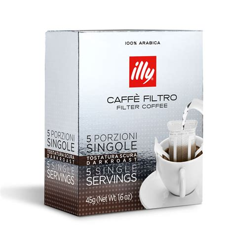 Coffee Illy illy filter coffee in portions