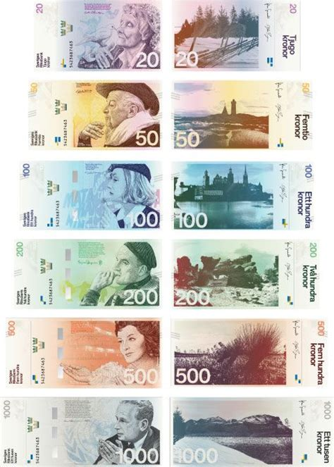 design contest money the swedish national bank held a contest to redesign its