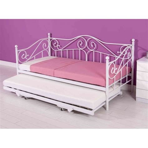 White Metal Daybed Cheap White Metal Day Bed Frame For Sale At Best Price
