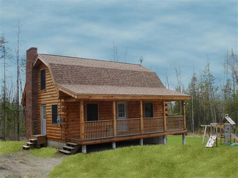 Wood Cabin Home Plans