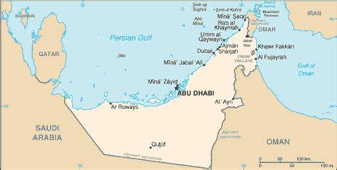 middle east map rub al khali desert geography of the united arab emirates