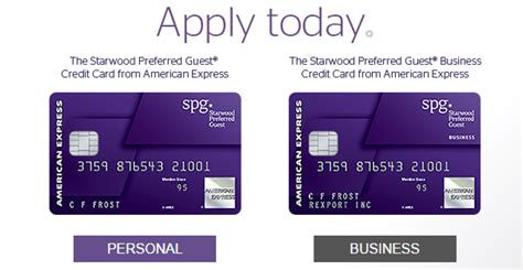 Spg Business Credit Card