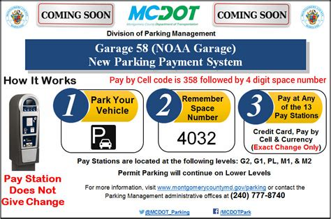 Garage Pay by Garage 58 Pay Stations