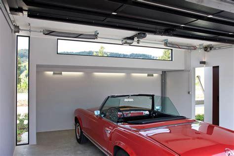 beleuchtung garage lichtgestaltung ausstattung