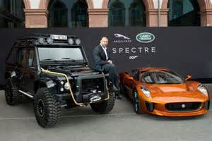 Jaguar Land Rover Placement Jaguar Land Rover Showed The Spectre In Frankfurt